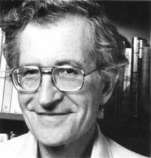 """Concurso """"Adiviña quen é"""" 3ª edición - Noam Chomsky"""